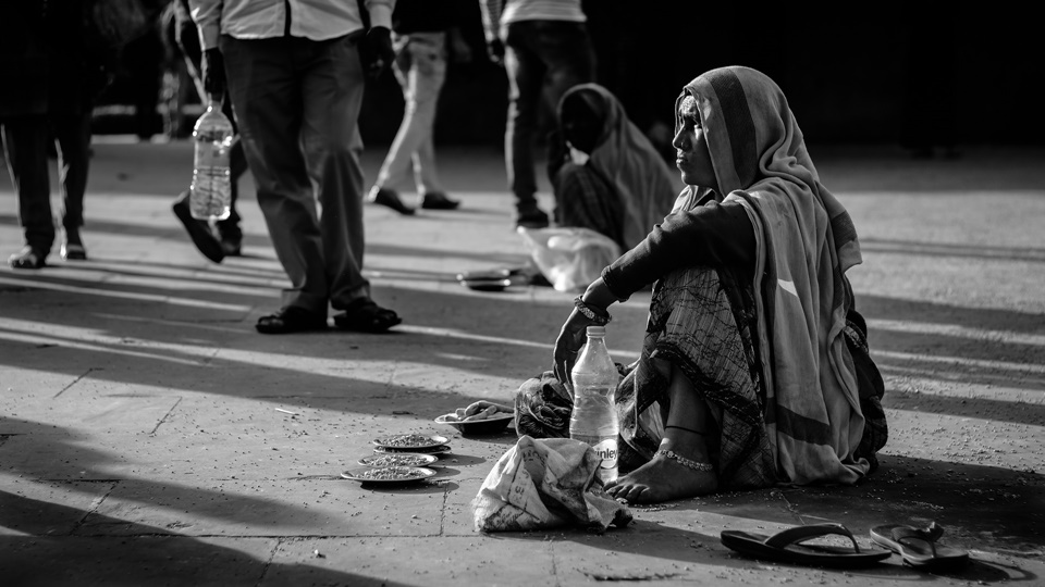 About helping street beggars